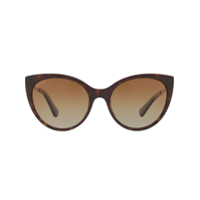 Bulgari Tortoiseshell Cat Eye Sunglasses - Marrom