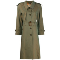 Burberry Trench Coat 'crostwick' - Verde