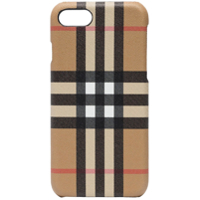 Burberry Capa Xadrez Para Iphone 8 - Neutro