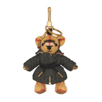 Burberry Thomas Bear Charm In Quilted Jacket - Neutro