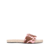 By Far Sandália Arizona Slip On - Rosa