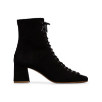 By Far Black Becca 50 Suede Ankle Boots - Preto