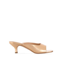 By Far Sandália Kosara Slip On - Dourado