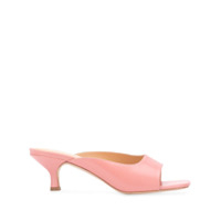 By Far Sandália Kosara Slip On - Rosa