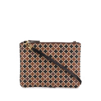 By Malene Birger Clutch Estampada - Marrom