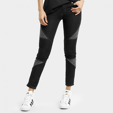Calça Adidas Originals Denim Clrd Superskinny-Feminino