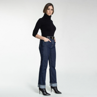 Calça Boston - Jeans Dark Denim - 34