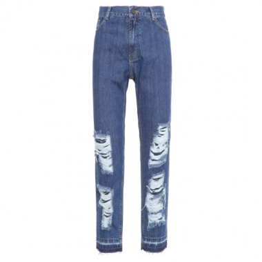 Calça Boy Jeans Old School Twenty Four Seven - Azul