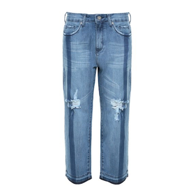 Calça Boyfriend Jeans Destroyed