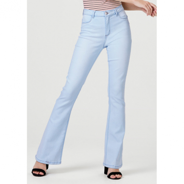 Calça Jeans Feminina Sculpted Flare Push Up