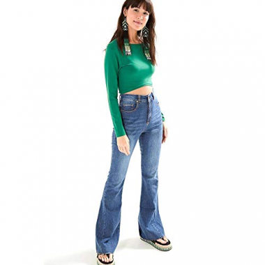 Calca Jeans Flare Jeans - 40