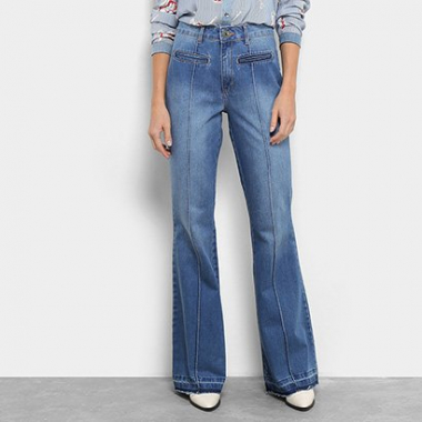Calça Jeans Flare My Favorite Thing (S) Super High Feminina-Feminino