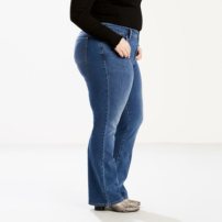 Calça Jeans Shaping Bootcut Plus Size Levis-Feminino