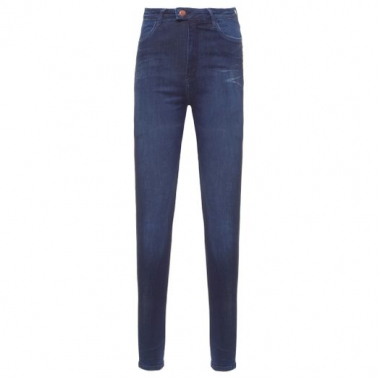 Calça Jeans Super Skinny Hw Touch Replay - Azul