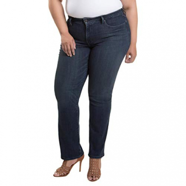 Calça Jeans Women Levis 314 Shaping Straight Escura