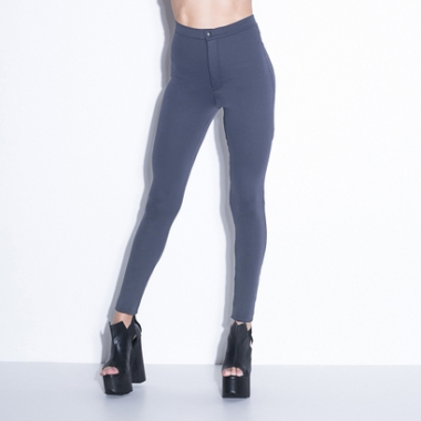 Calça Legging Labellamafia Disco Pants Gray-Feminino