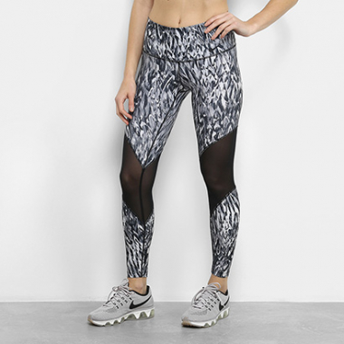Calça Legging Nike High Rise Printed Tight Feminina -Feminino