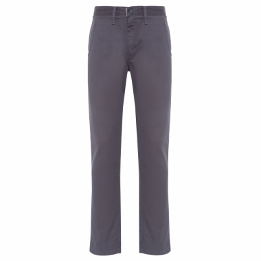 Calça Masculina Authentic Chino Stretch Asphalt - Cinza