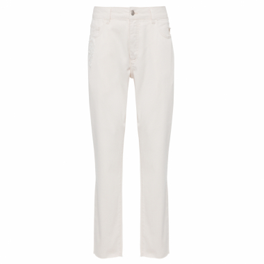 Calça Masculina Work Over Bleachwed - Off White