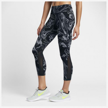 Calça Nike Power Epic Lux Crop Print Feminina