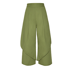 Calça Pantacourt Sail Green Framed