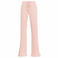 Calça Pantalona Canelado Blush We Fit - Rosa