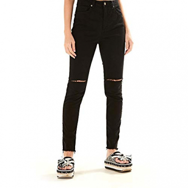 Calca Skinny Color Preto - 34