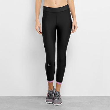 Calça Under Armour Hg Ankle Crop Feminina-Feminino