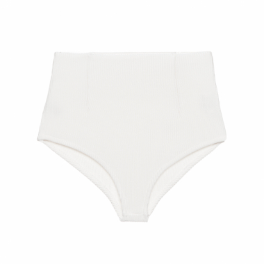 Calcinha Hot Pant Tricot - Off White
