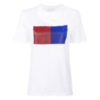 Calvin Klein Colour Block T-Shirt - Branco