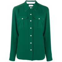Calvin Klein Loose Fitted Blouse - Green