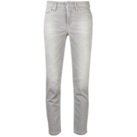 Cambio Cropped Jeans - Cinza