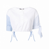 Camisa cropped 'Henley'