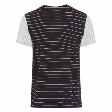 Camisa Masculina  Jersey Double Fabric Stripes - Off White