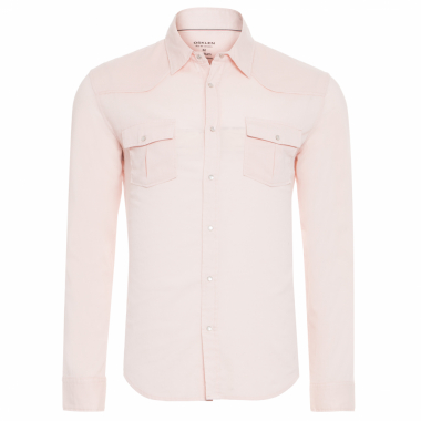 Camisa Masculina Travel Shirt - Rosa