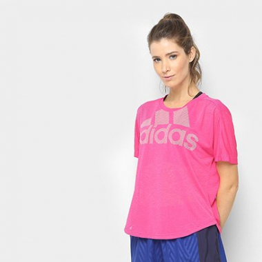 Camiseta Adidas Magic Logo Feminina-Feminino
