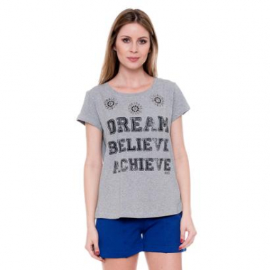 Camiseta Bisô T-Shirt Dream Feminina-Feminino