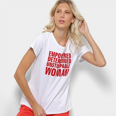 Camiseta Coca-Cola Empowered  Womam Feminina-Feminino