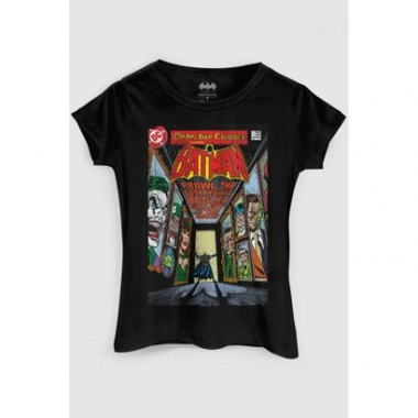Camiseta Dc Comics Batman Rogues Gallery Bandup!-Feminino