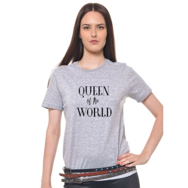Camiseta Feminina Joss - Queen Of The World-Feminino