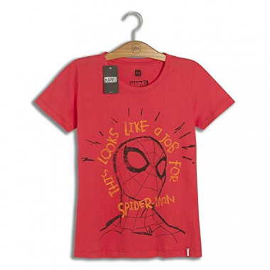 Camiseta Feminina Marvel Job For Spider- Man