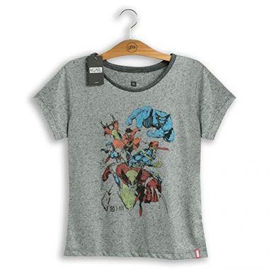 Camiseta Feminina Marvel X-Men