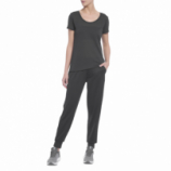 CAMISETA FEMININA THREADBORNE STREACKET - PRETO