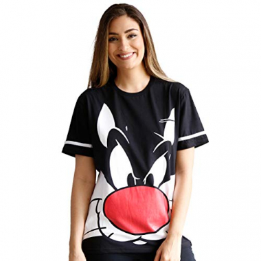 Camiseta Looney Tunes Frajola Face