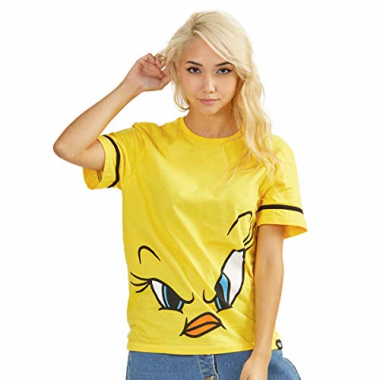 Camiseta Looney Tunes Piu-Piu Face