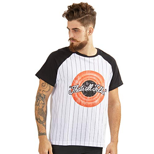 3080a96a02 Camiseta Looney Tunes That s All Folks