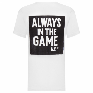 Camiseta Masculina Alw In The Game - Branco