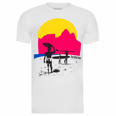Camiseta Masculina Endless Summar - Branco