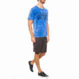CAMISETA MASCULINA RG BLACK SEA - AZUL