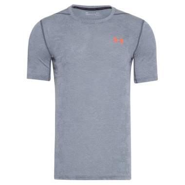 Camiseta Masculina Threadborne Elite Fitted - Cinza